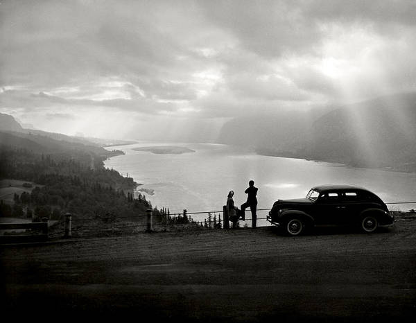 Poster featuring the photograph Columbia Gorge by Ray Atkinsen