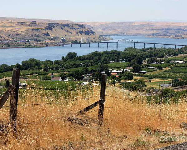 River Poster featuring the photograph Columbia River - Biggs And Maryhill State Park by Carol Groenen