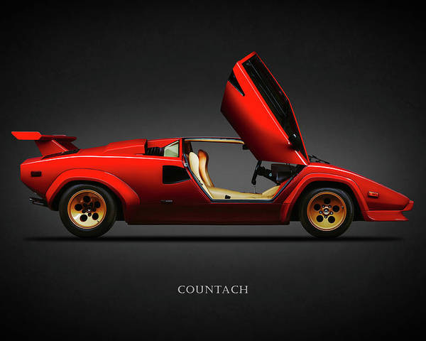 Countach Lp500 S Poster By Mark Rogan
