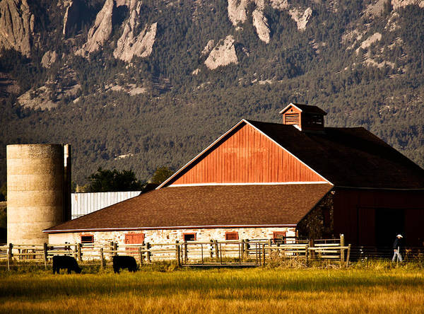 Americana Poster featuring the photograph Country Living Boulder County by Marilyn Hunt