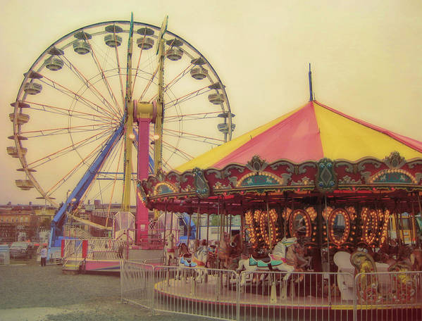 Carnival Poster featuring the photograph County Fair by JAMART Photography