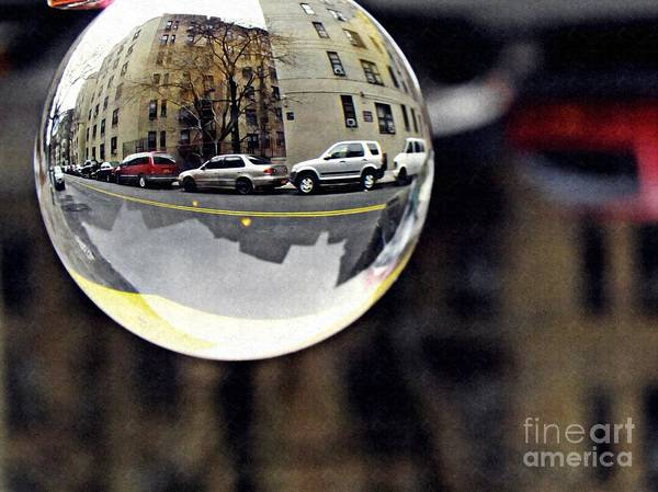 Crystal Poster featuring the photograph Crystal Ball Project 89 by Sarah Loft