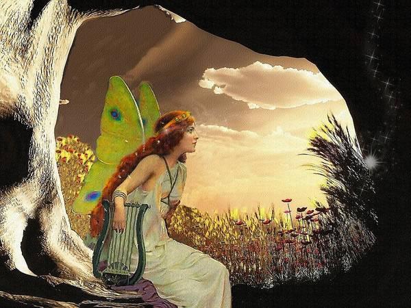 Fantasy Poster featuring the digital art Dawn by Mary Morawska