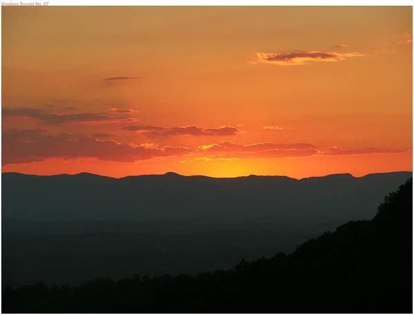 Sunset Poster featuring the photograph Day Is Done by John Geck