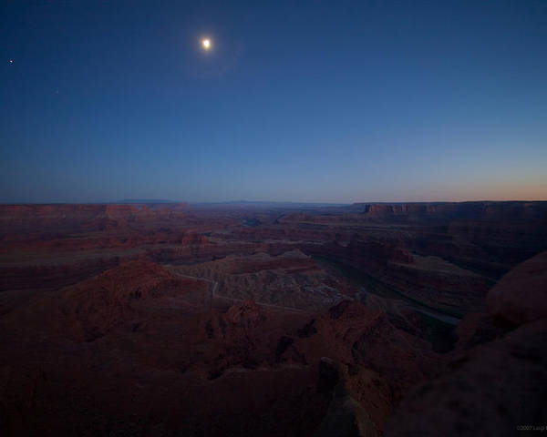 U.s.a. Poster featuring the photograph Dead Horse Point by Luigi Barbano BARBANO LLC