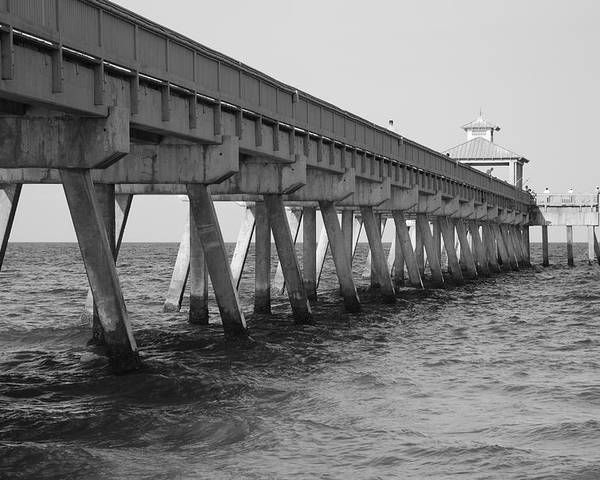 Architecture Poster featuring the photograph Deerfield Beach Pier by Rob Hans