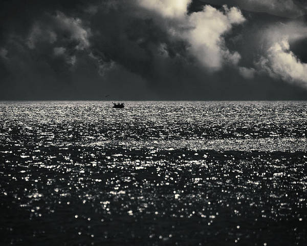Sea Poster featuring the photograph Delusion by Taylan Apukovska