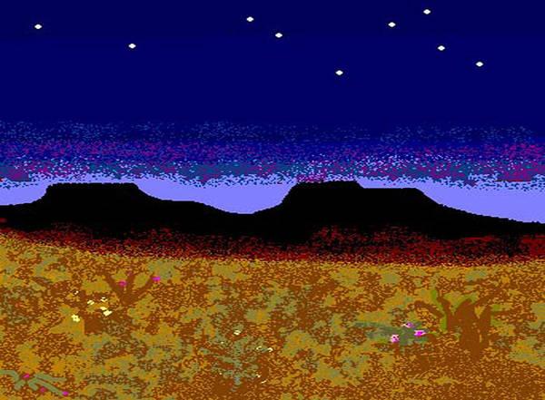 Desert Poster featuring the digital art Desert Eve by Carole Boyd