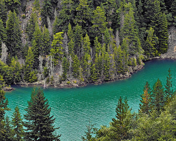 Turquoise Poster featuring the photograph Diabolo Lake North Cascades Np Wa by Christine Till
