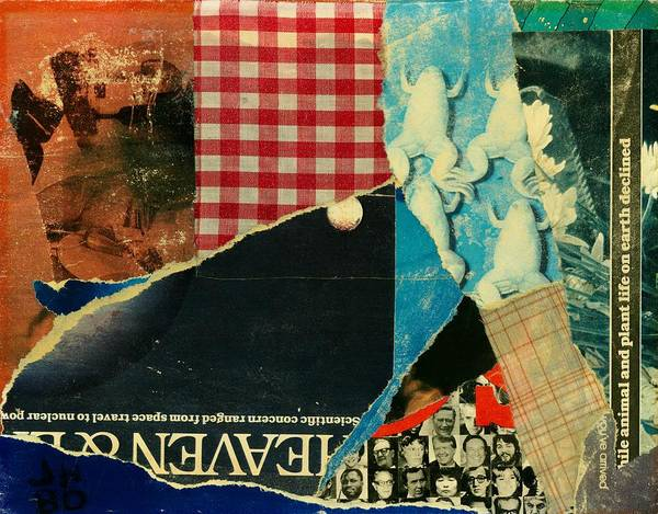 Abstract Art For Sale Poster featuring the painting Dinner At The Italian Embassy by Jerry Hanks