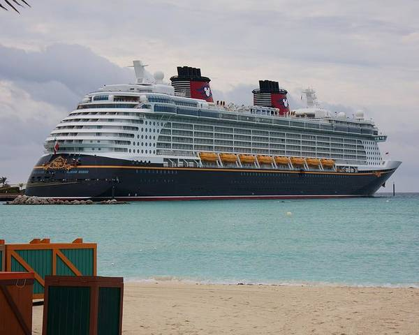 Disney Dream Poster featuring the photograph Disney Dream by Michael Albright