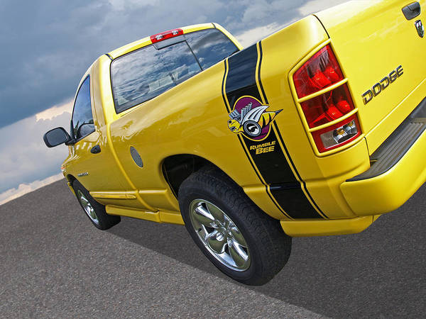 Dodge Ram Rumble Bee Poster By Gill Billington