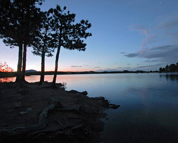 Fine Art Silhouette Photography. Dowdy Lake Colorado.fine Art Greeting Cards. Dowdy Lake Greeting Cards. Dowdy Lake Photography. Sunset Pictures. Sunset Lake Pictures. Sunset Lake Photography. Lake . Sunset. Camping. Fishing. Boating. Summer Camping. Twilight Photography. Twilight Greeting Cards. Sunset Posters. Mixed Media. Mixed Media Photography. Mixed Media Lake Photography. Mixed Media Silhouette Photography. Poster featuring the photograph Dowdy Lake Silhouette by James Steele