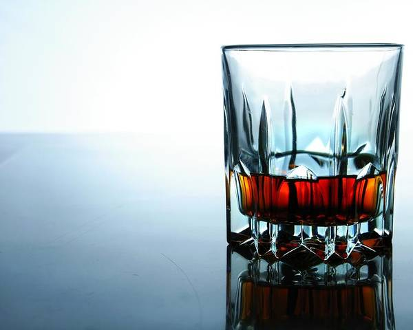 Glass Poster featuring the photograph Drink In A Glass by Jun Pinzon