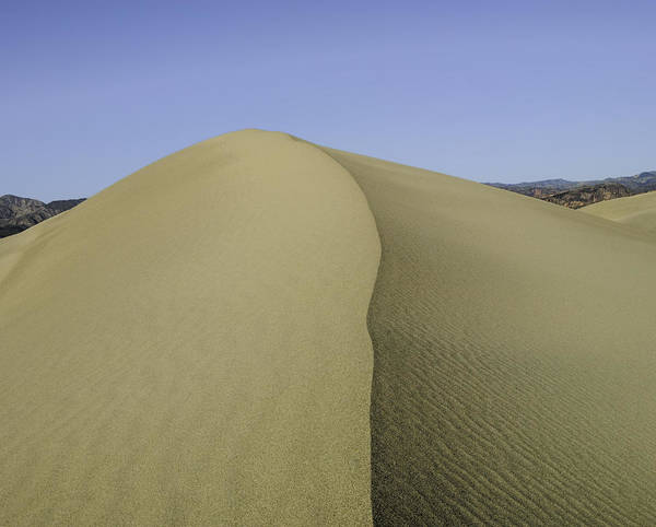 Death Valley Poster featuring the photograph Dunes Four by Paul Basile