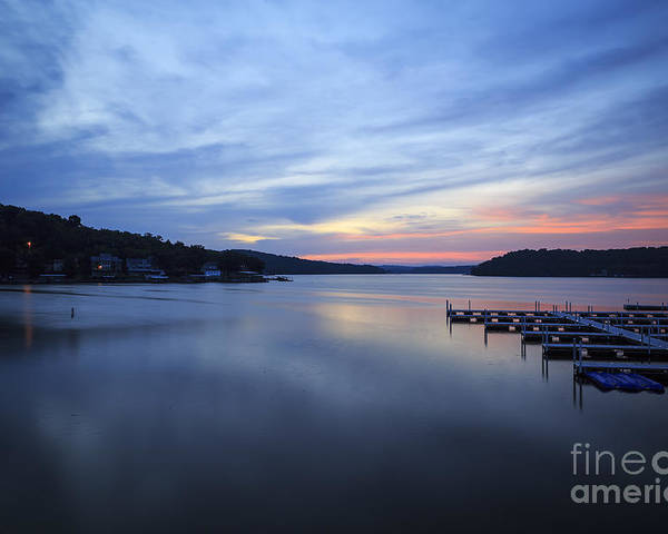 Lake Poster featuring the photograph Early Morning At Lake Of The Ozarks by Dennis Hedberg