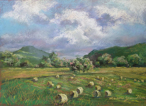 Pastel Poster featuring the painting Early Summer Cutting by Marlene Gremillion