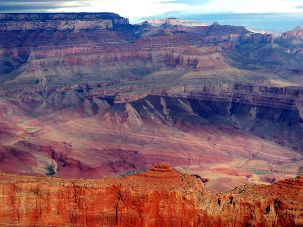 Grand Canyon National Park Poster featuring the photograph East Rim View by Carrie Putz
