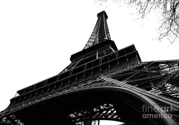 Eiffel Tower Poster featuring the photograph Eiffel From An Angle by Joshua Francia