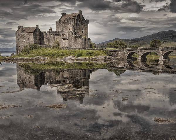 Scotland Poster featuring the photograph Eilean Donan Castle 3 by Wade Aiken
