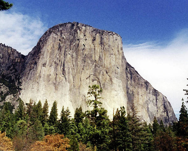 Yosemite Poster featuring the photograph El Capitan by Joanne Riske