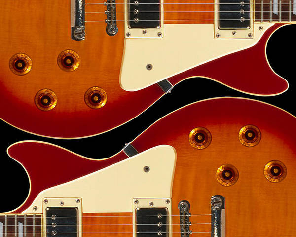 Guitar Poster featuring the photograph Electric Guitar II by Mike McGlothlen