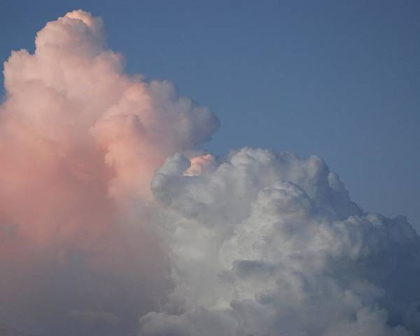 Clouds Poster featuring the photograph Elephant Cloud by Rob Hans