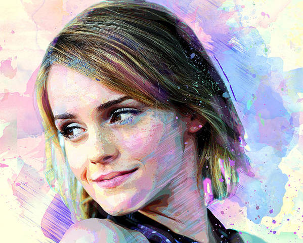 11 24 inch by 36 inch Hollywood Art Photo Poster EMMA WATSON Poster
