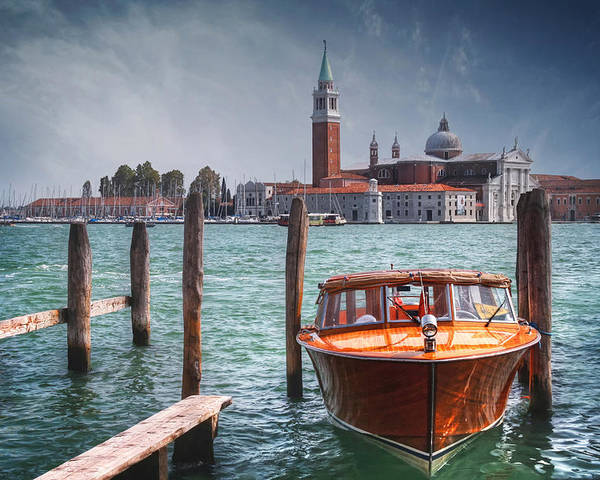 Venice Poster featuring the photograph Enchanting Venice by Carol Japp