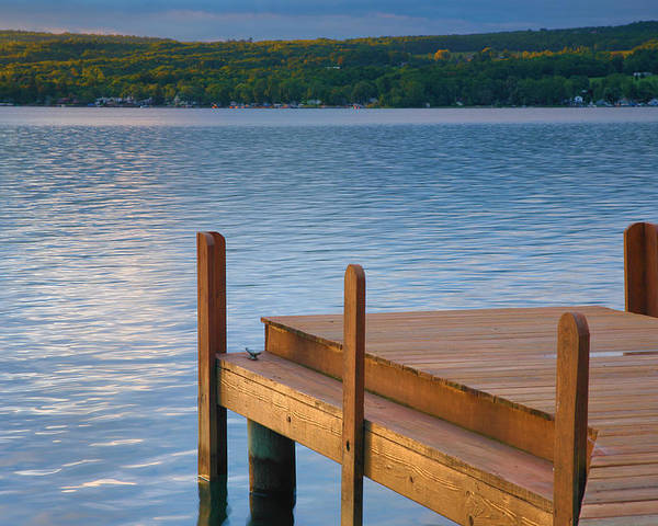 Lake Poster featuring the photograph End Of Summer IIi by Steven Ainsworth