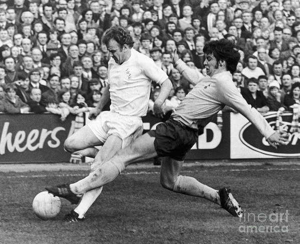 1972 Poster featuring the photograph England: Soccer Match, 1972 by Granger