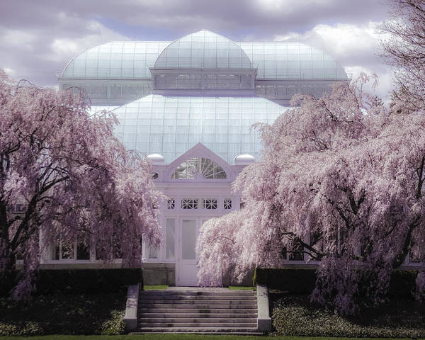 Enid Haupt Conservatory New York Botanical Garden Poster By Julie