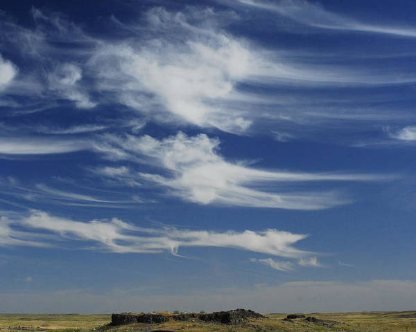 Sky Poster featuring the photograph Ethereal Clouds by Owen Ashurst