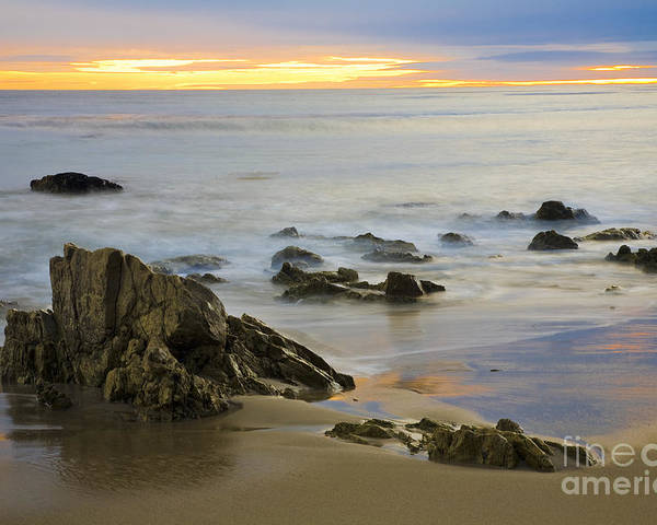 Beaches Poster featuring the photograph Ethereal Seas by Greg Clure