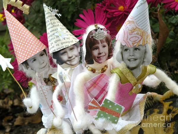 Fairy Poster featuring the photograph Fab Fairies by Christine Belt