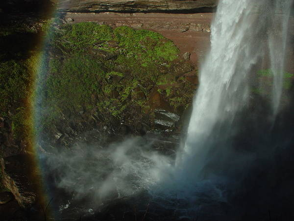 Nature Poster featuring the photograph Falls 1 by Eric Workman