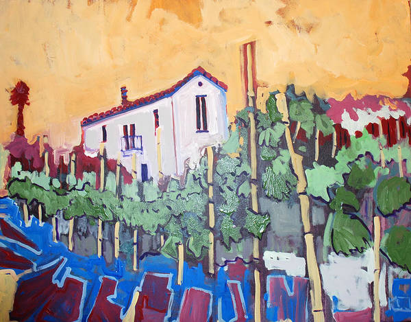 Farm House Poster featuring the painting Farm House by Kurt Hausmann