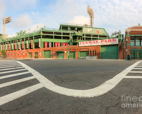 Clarence Holmes Poster featuring the photograph Fenway Park IIi by Clarence Holmes