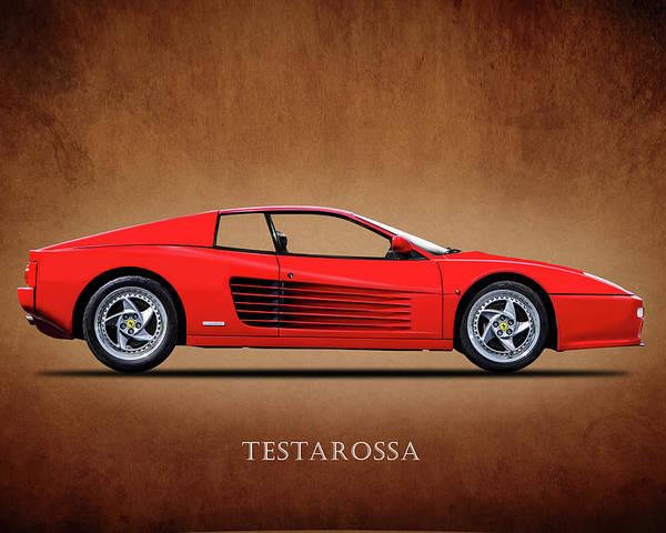 Ferrari Testarossa Poster By Mark Rogan
