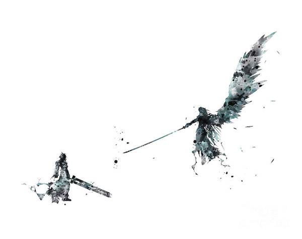 Final Fantasy by Monn Print