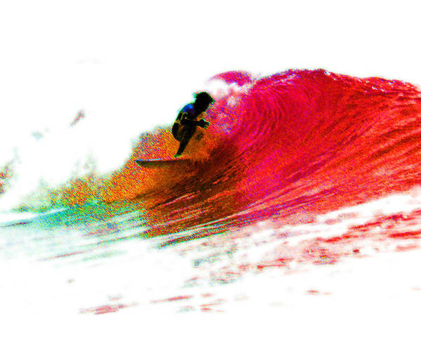 Surf Poster featuring the photograph Fire Water by David Coyle