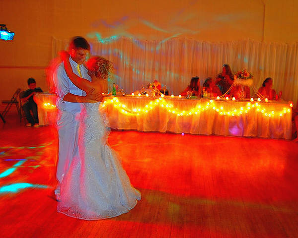 Wedding Poster featuring the photograph First Dance by Jame Hayes