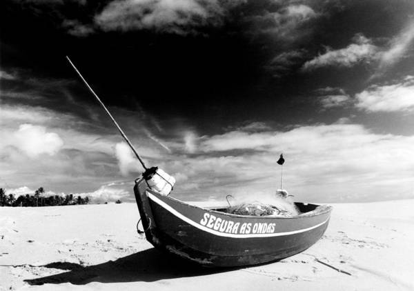 Fisherman Poster featuring the photograph Fisherman Boat by Amarildo Correa