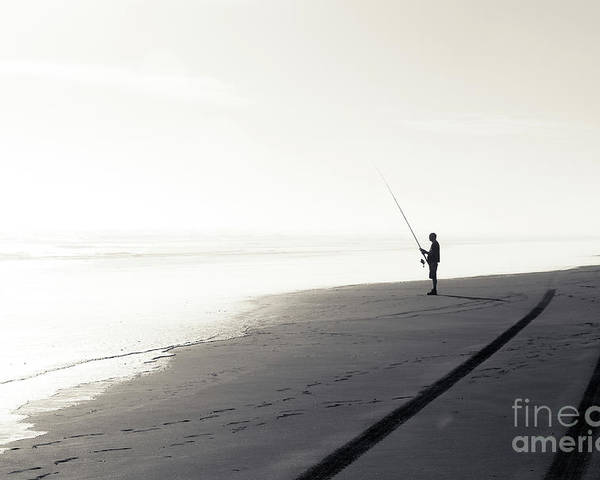 Fisherman Poster featuring the photograph Fisherman by Yurix Sardinelly