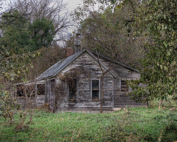 House Poster featuring the photograph Fixer Upper by Gary Prill
