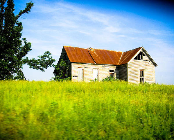 Landscape Poster featuring the photograph Fixer Upper by Melissa Riggs