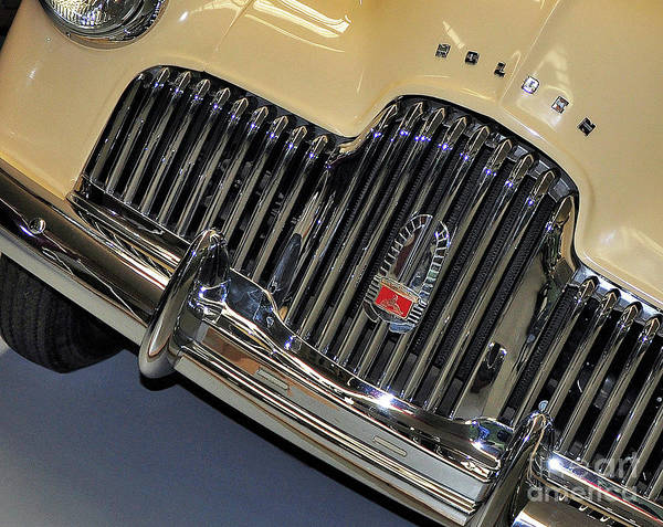 Photography Poster featuring the photograph Fj Holden - Front End - Grill by Kaye Menner