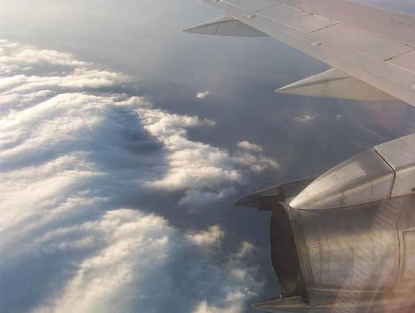 Sky Poster featuring the photograph Flight by Adam Schwartz