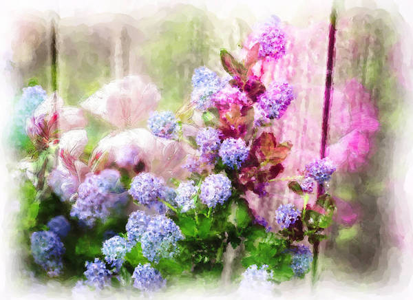 Flowers Poster featuring the photograph Floral Merge 11 by Artzmakerz