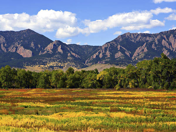 Fall Poster featuring the photograph Foothills Of Colorado by Marilyn Hunt